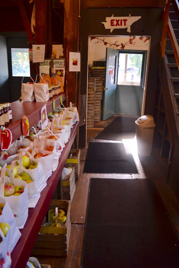 Inside Parshallville Cider Mill