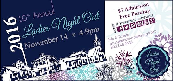 Ladies Night Out at Crossroads Village in Flint