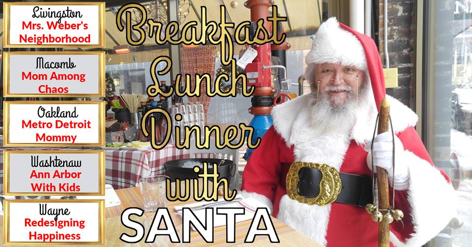 Meals With Santa in metro Detroit
