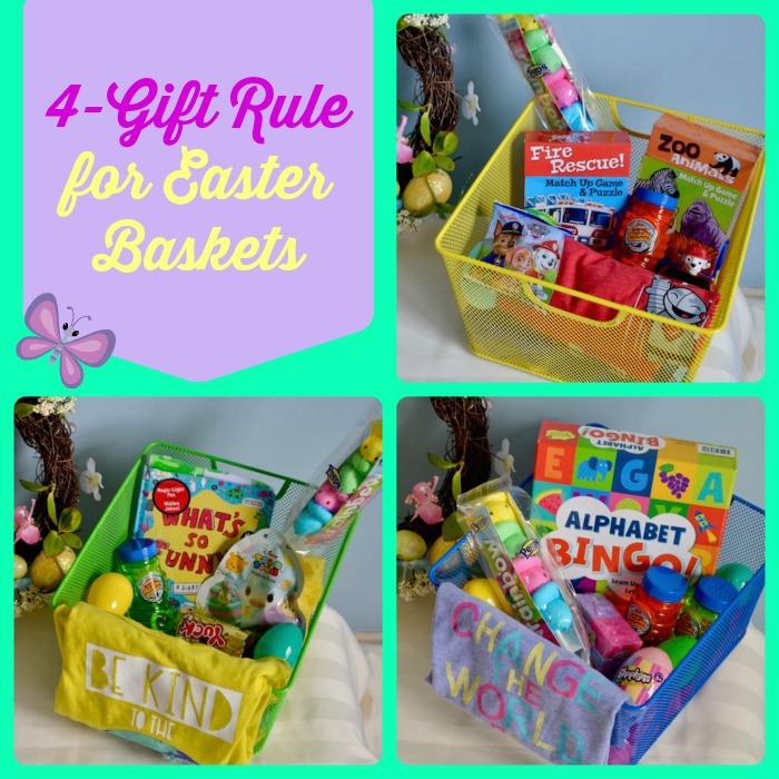 4 Gift Rule for Easter Baskets
