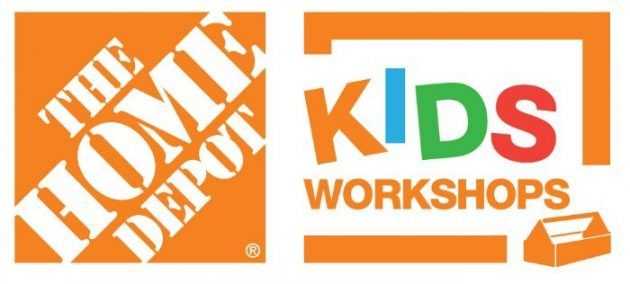 FREE Home Depot Kid's Workshops