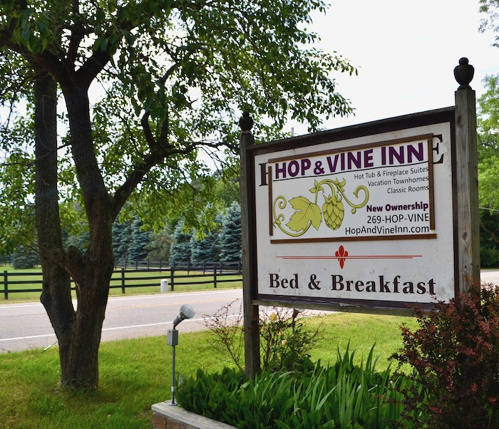 Hop & Vine Inn In Fennville Michigan