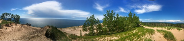 Sleeping Bear Dunes - Glen Arbor Michigan Anniversary Trip