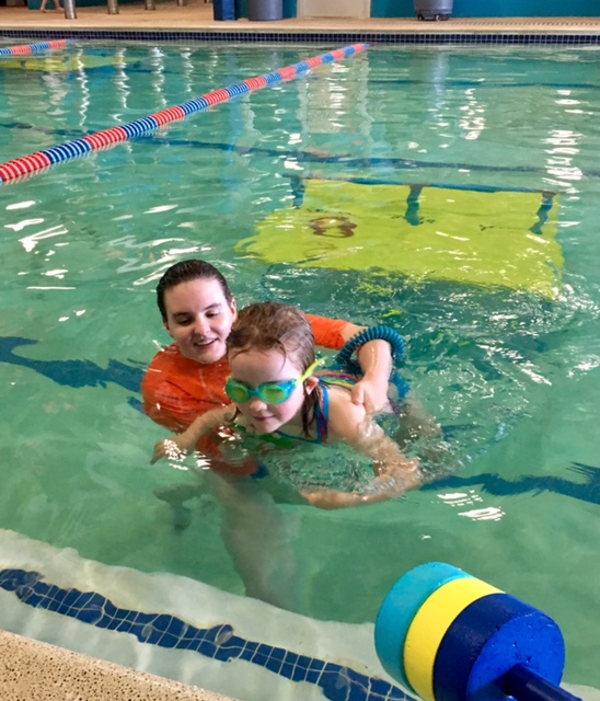 Swim Lessons with Goldfish Swim School