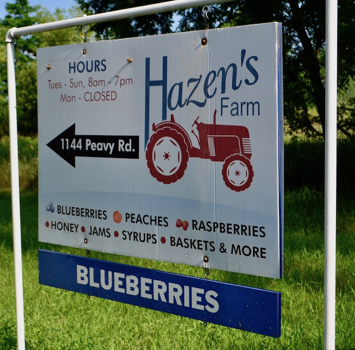 Hazen's Farm in Howell, Michigan