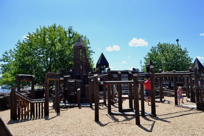 Imagination Station Playground in Brighton, Michigan
