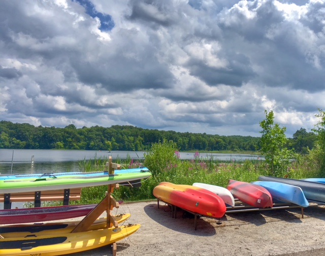 Stand Up Paddle Boarding in Southeast Michigan