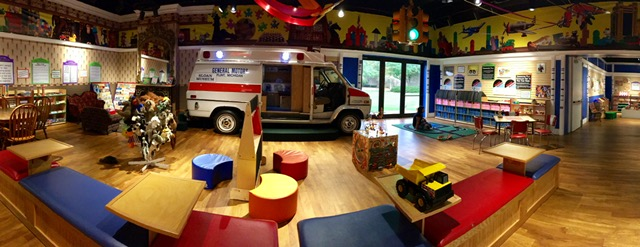 Play Area at Sloan Museum