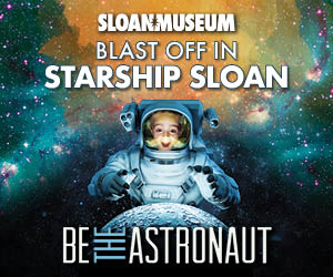 Be The Astronaut at Sloan Museum