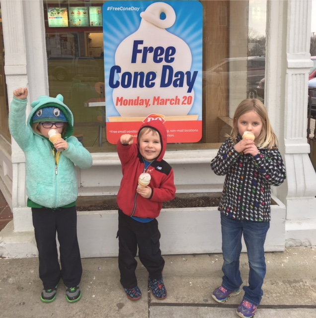 FREE Cone Day at Dairy Queen 2018