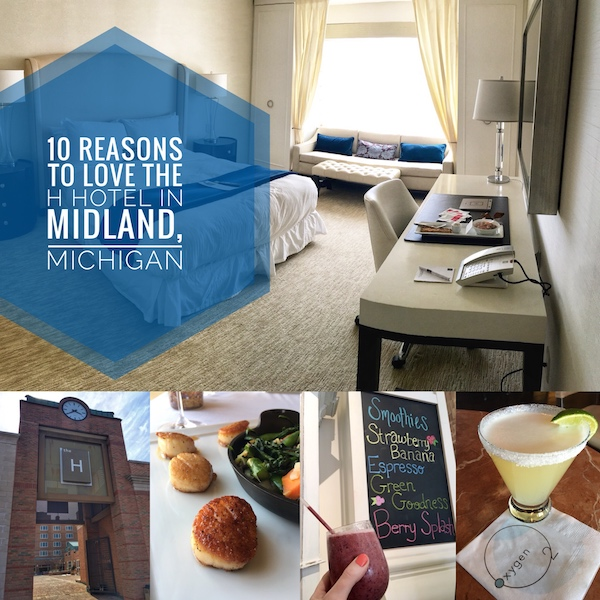 10 reasons to love the h hotel in midland michigan
