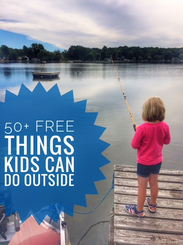 FREE Things Kids Can Do Outside
