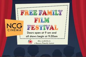 NCG Free Family Film Festival Fall 2018