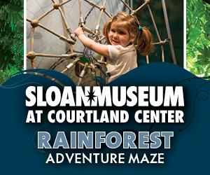 Rainforest at Sloan Museum