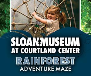 Rainforest at Sloan Museum