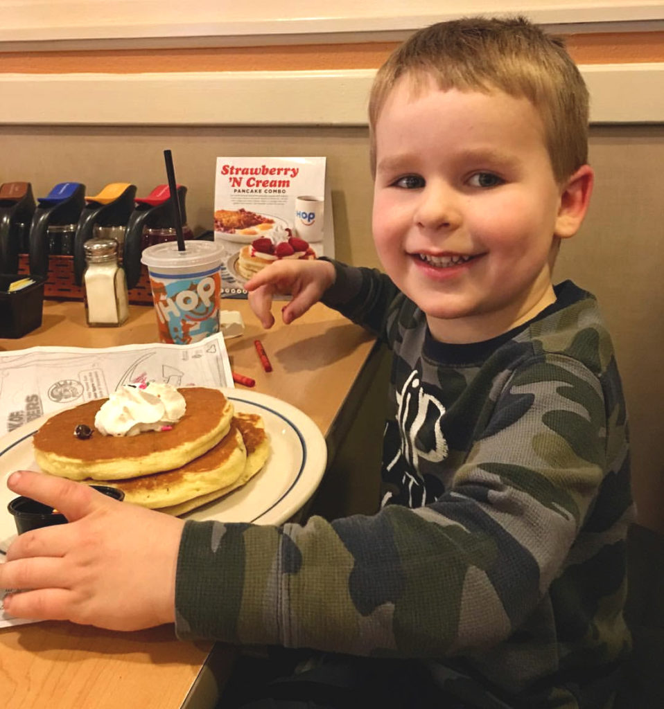 Free IHOP Pancakes on February 25