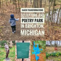 Oaken Transformations Sculpture and Poetry Park