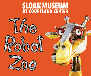 Robot Zoo at Sloan Museum