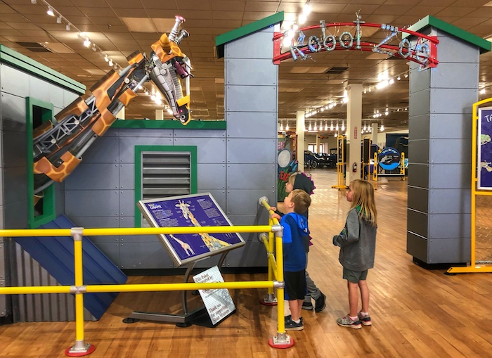Robot Zoo at Sloan Museum at Courtland Center Mall
