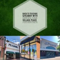 Back-To-Teaching with Green Oak Village Place
