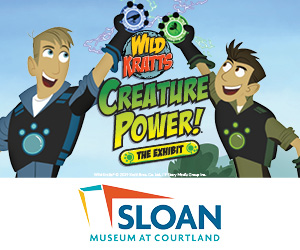 Wild Kratts Sloan Museum at Courtland Center Mall