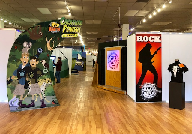 Wild Kratts + Rock U at Sloan Museum