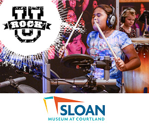 Rock U at Sloan Museum at Courtland Center Mall