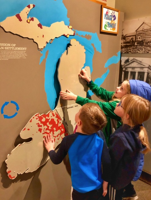 Places to learn about Michigan history