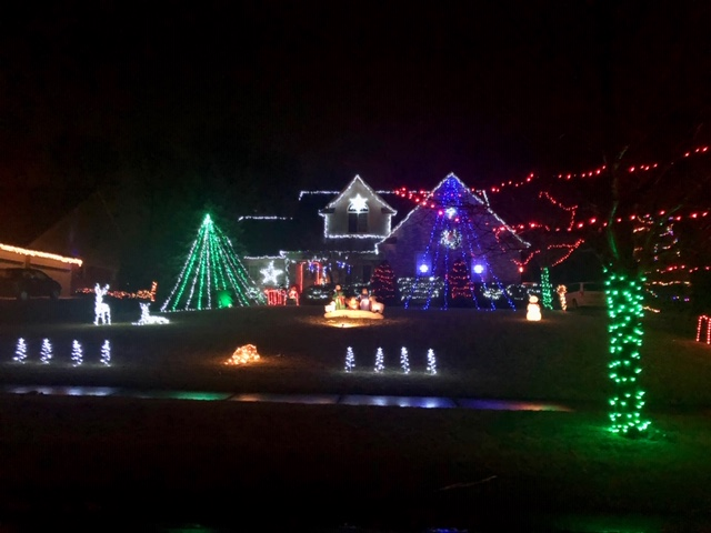 2020 Christmas Light Tour in Howell Fenton and Linden Areas