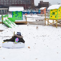 Outdoor Winter Fun in Detroit
