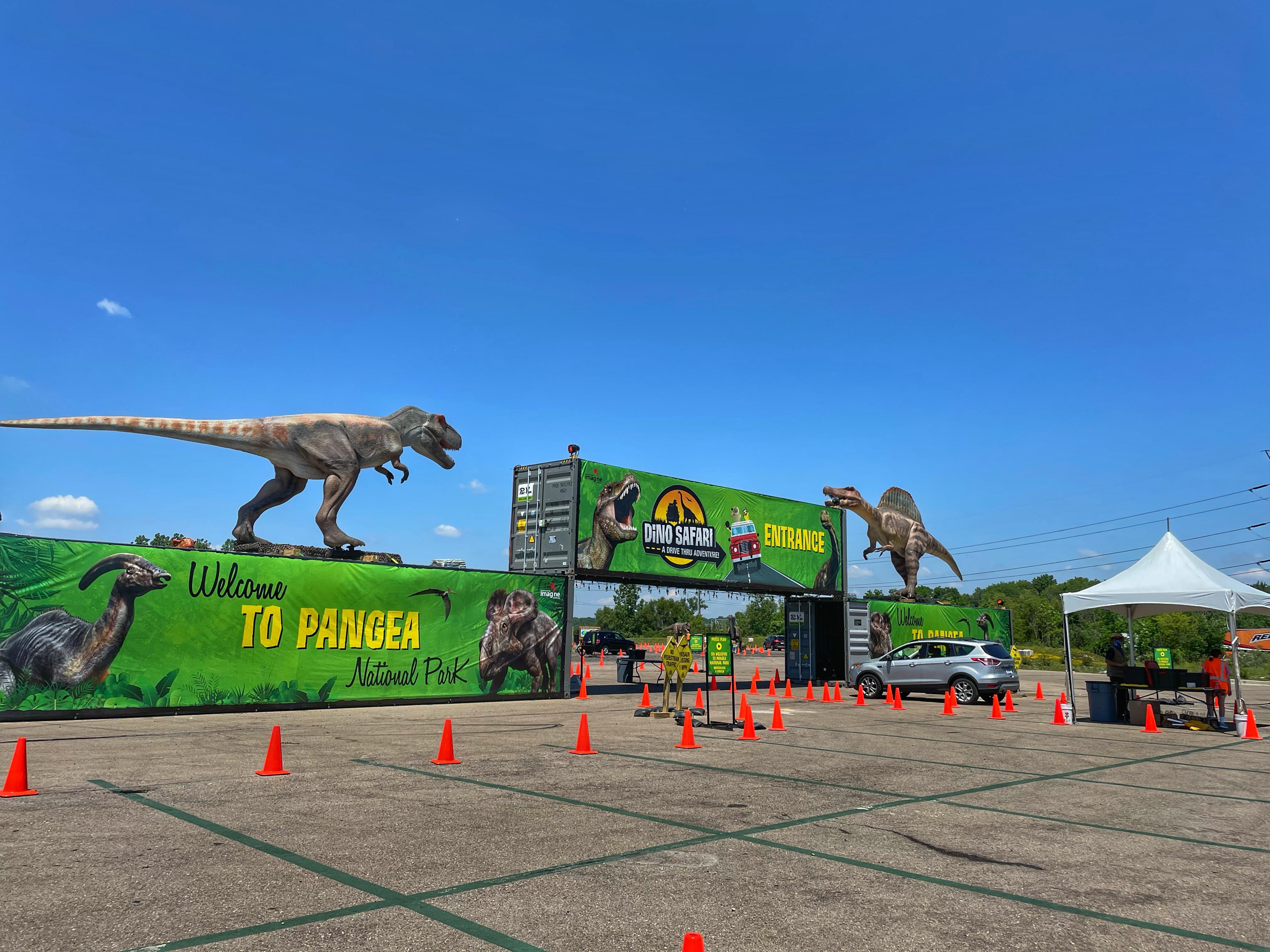 Dino Safari at Suburban Collection Showplace