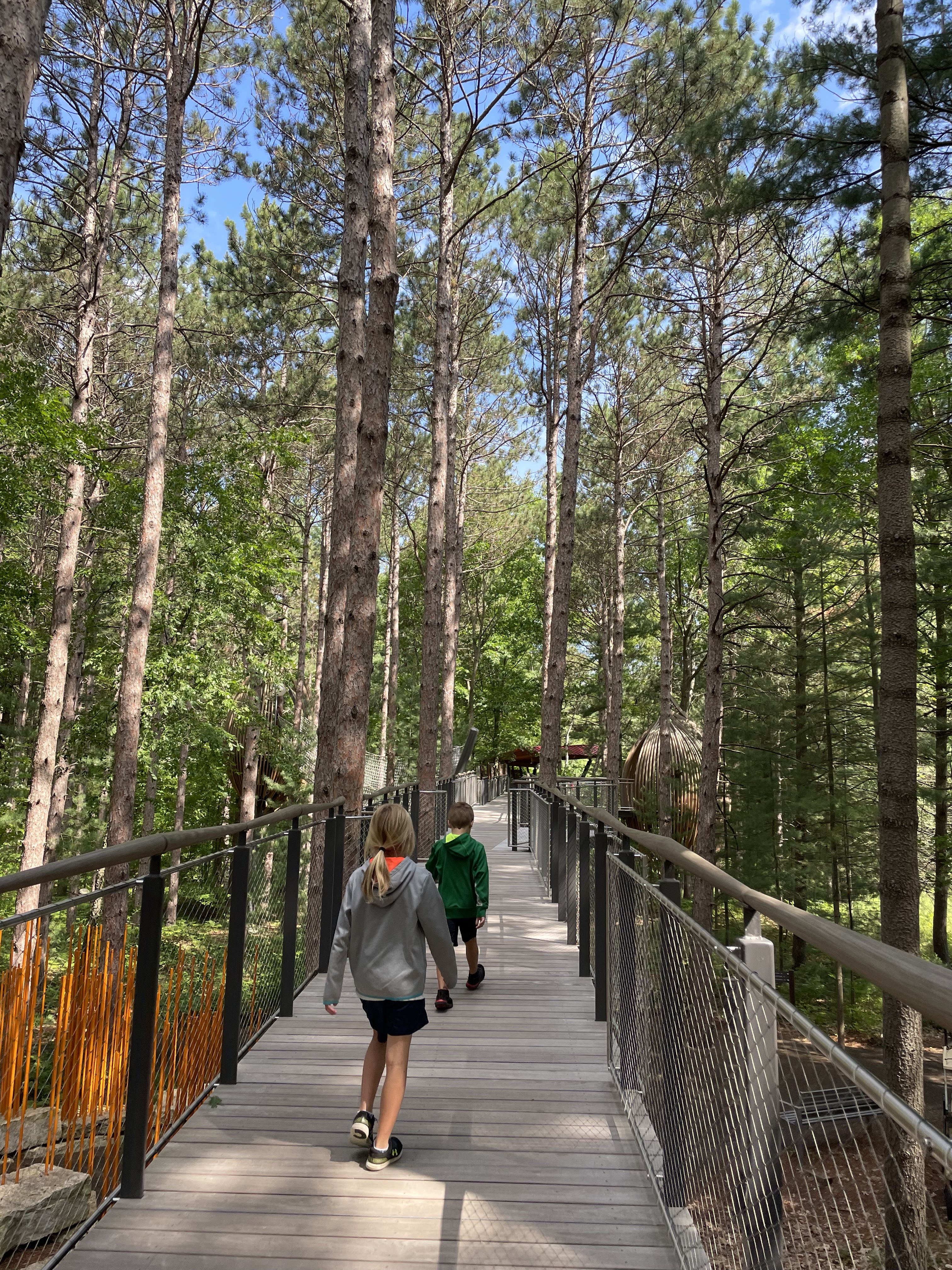 Tips For Visiting Dow Gardens and Whiting Forest in Midland With Kids